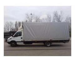 Transport mat. budowlanych Kraków,Bochnia - Wiedeń auta do 2.5 tony