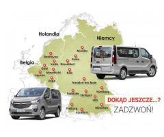 Busy do Niemiec Holandii Belgii z adresu pod adres